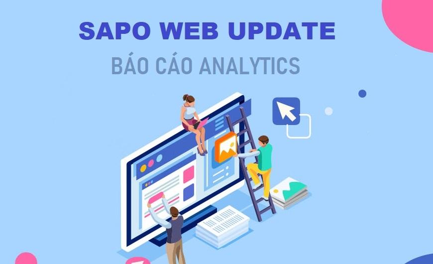 [Sapo Web] Ra mắt Hệ thống báo cáo thống kê truy cập và dữ liệu hành vi khách hàng ngay trên trang quản trị