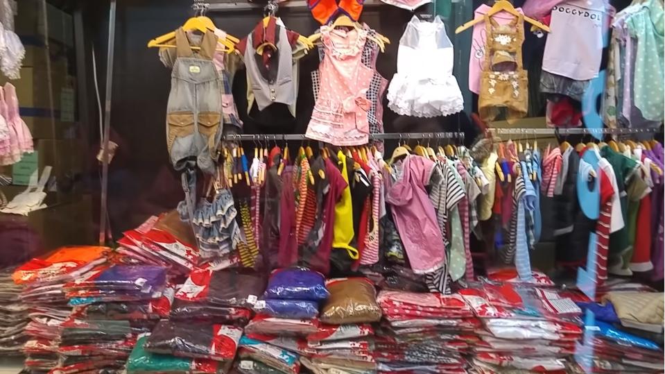 Bí quyết mua sỉ quần áo trẻ em giá rẻ ở chợ Chatuchak Thái Lan