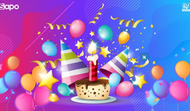 Đại tiệc sinh nhật, ưu đãi ngập tràn mừng Sapo tròn 10 năm tuổi