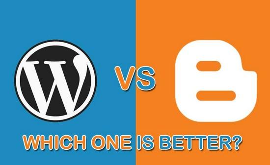 Sự khác biệt giữa Google Blogger và WordPress