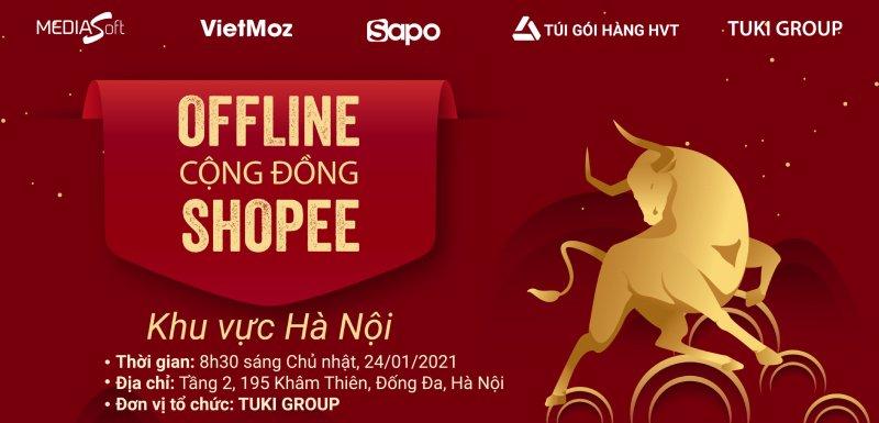 """Offline """"Gặp mặt cộng đồng kinh doanh Shopee tại Hà Nội"""""""
