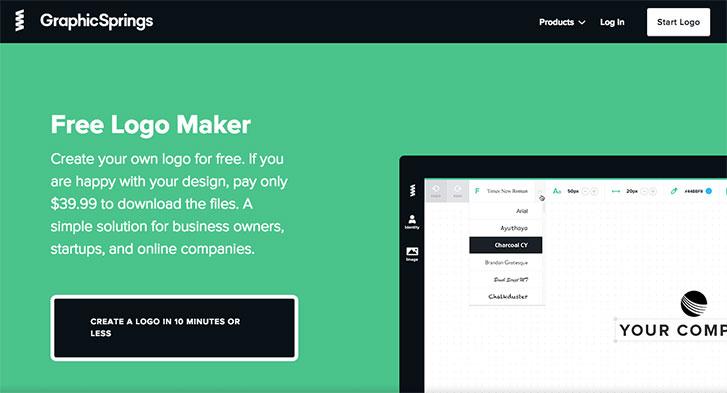 6 công cụ thiết kế logo trực tuyến để xây dựng thương hiệu