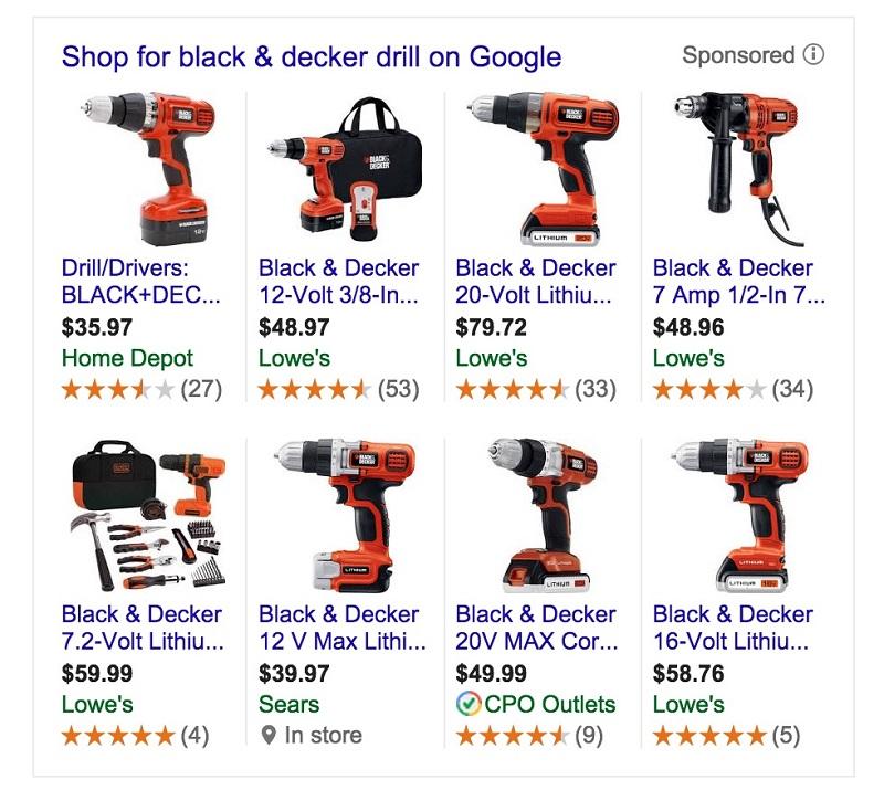 Các tiện ích mở rộng trong Google Shopping giúp tăng CTR tốt nhất