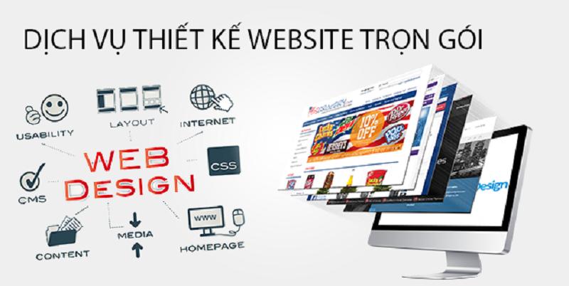 thiết kế website trọn gói là gì