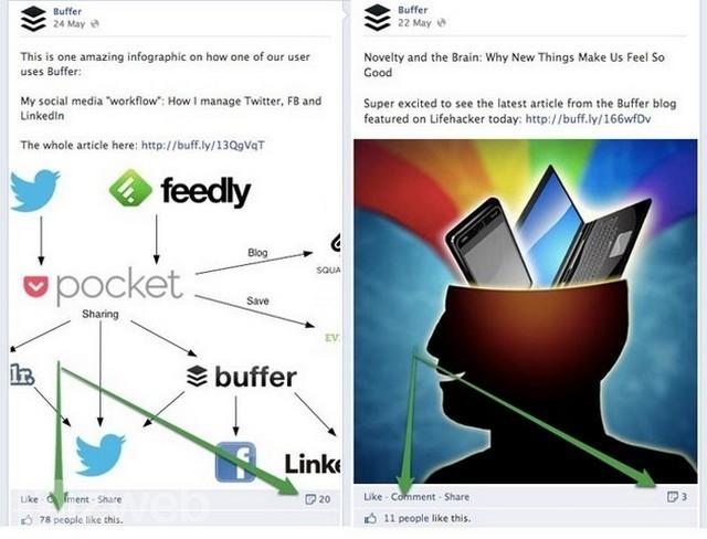 Sử dụng hình ảnh trên Facebook