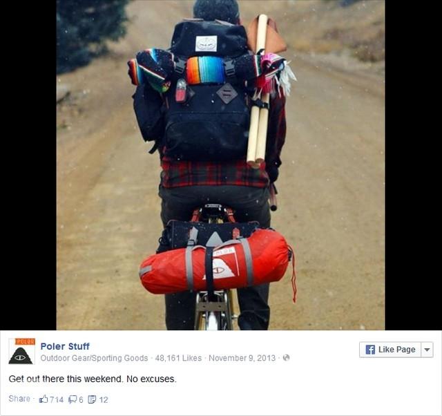 sử dụng Facebook để chia sẻ phong cách sống cùng với sản phẩm