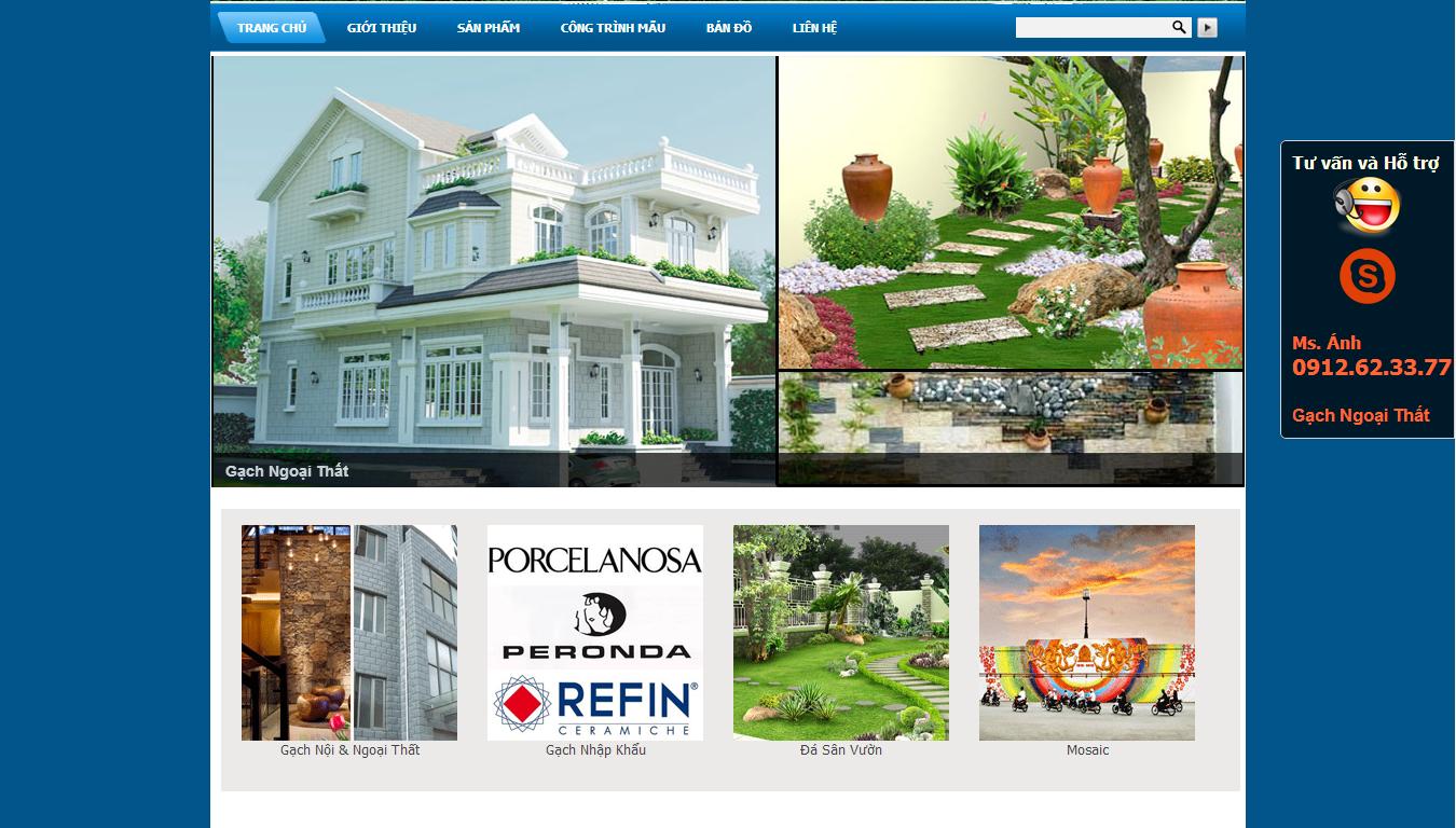 thiết kế web xây dựng giá rẻ