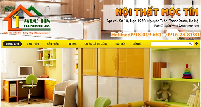 Một đối tác sử dụng dịch vụ thiết kế website Vũng Tàu