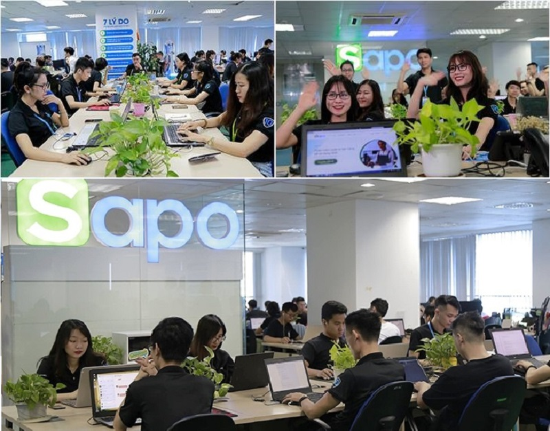 công ty cung cấp dịch vụ thiết kế web trọn gói Sapo Web