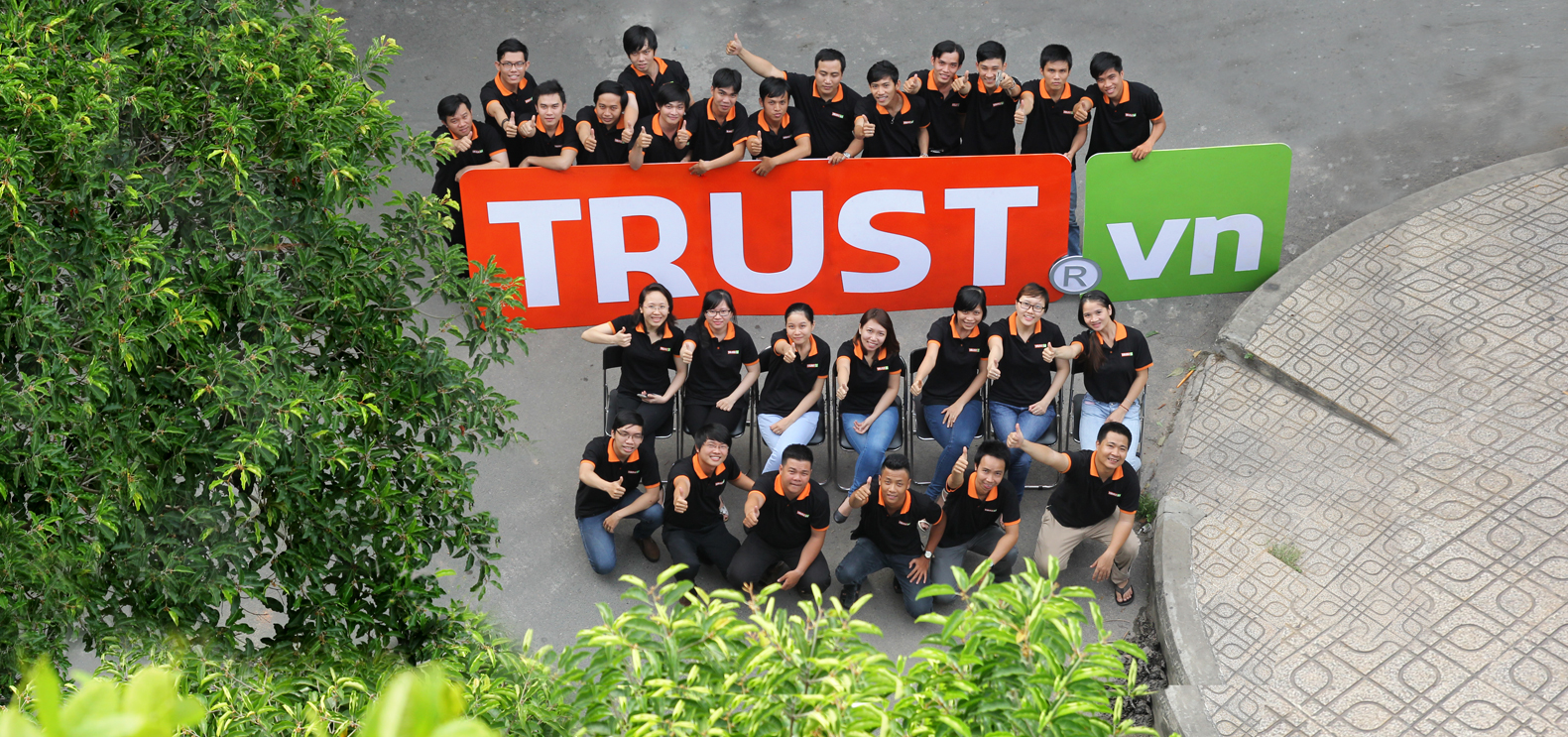 đơn vị thiết kế website trust vn