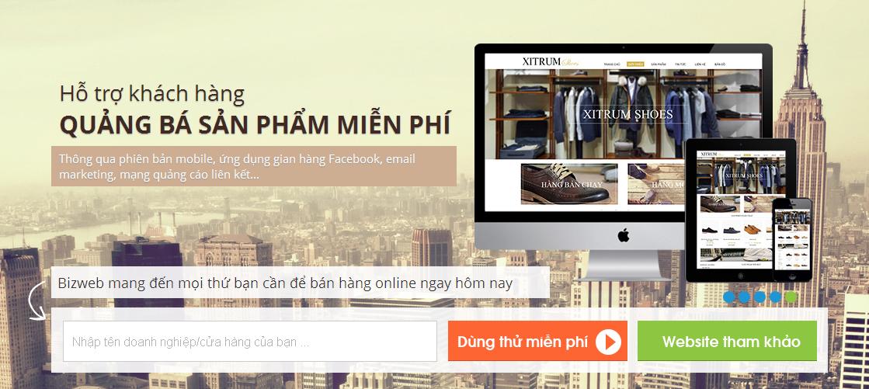 Phát triển kinh tế từ việc sở hữu hoặc sử dụng dịch vụ thiết kế website Thanh Hóa của Bizweb
