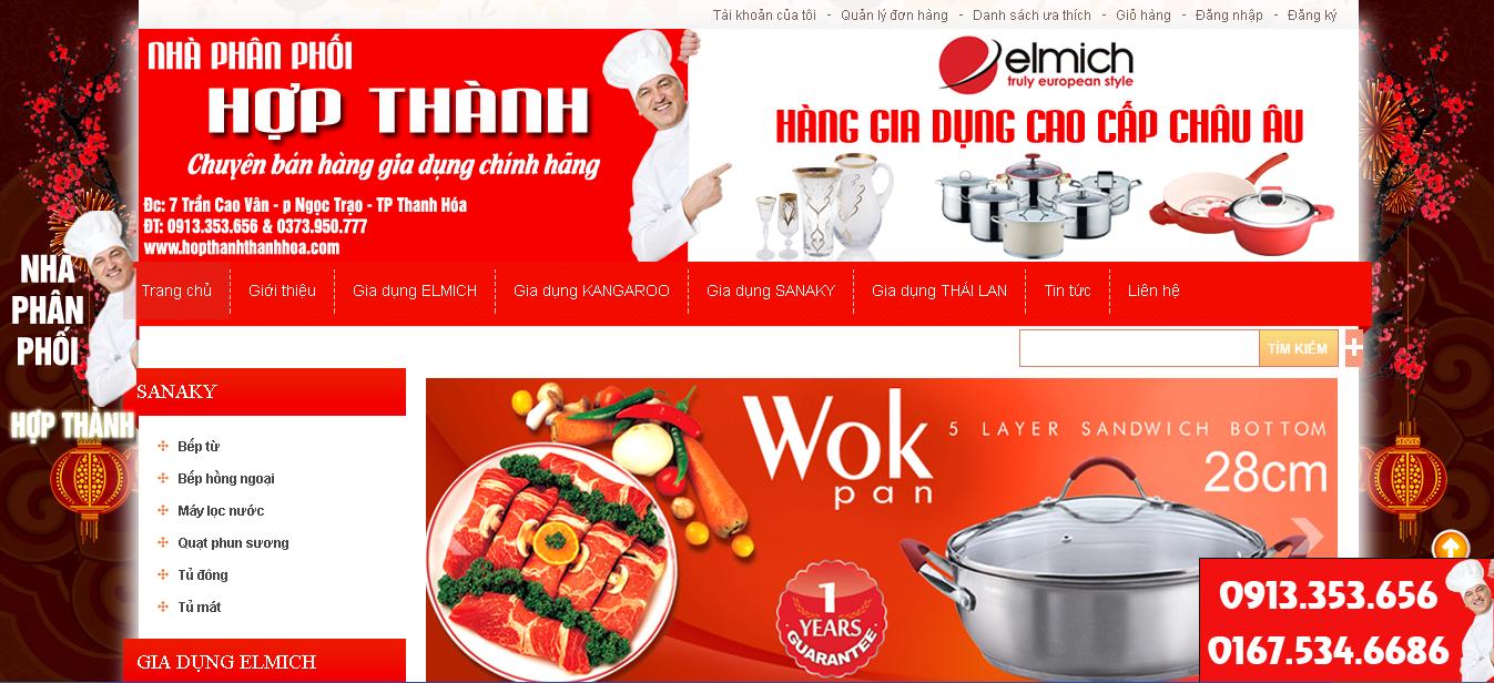Trang http://hopthanhthanhhoa.com, khách hàng tin tưởng dịch vụ thiết kế website Thanh Hóa của Bizweb