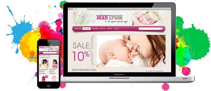 thiết kế web cho quảng ngãi giá rẻ