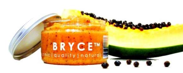 Hình ảnh sản phẩm hấp dẫn trên website của Bryce - mỹ phẩm handmade