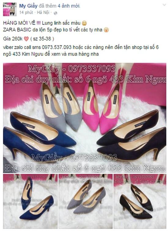 kinh doanh giày dép online