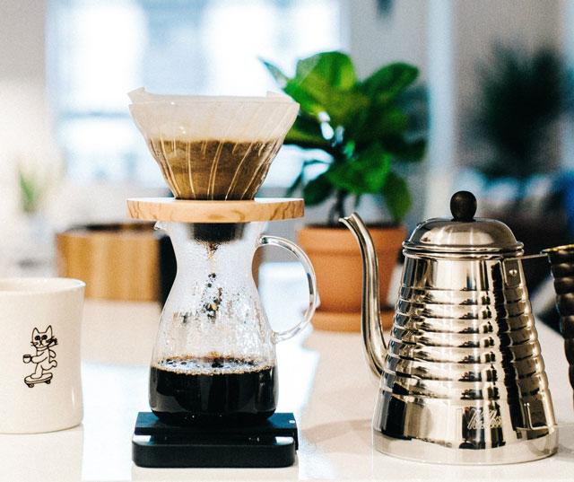 bộ dụng cụ pha cafe dripp