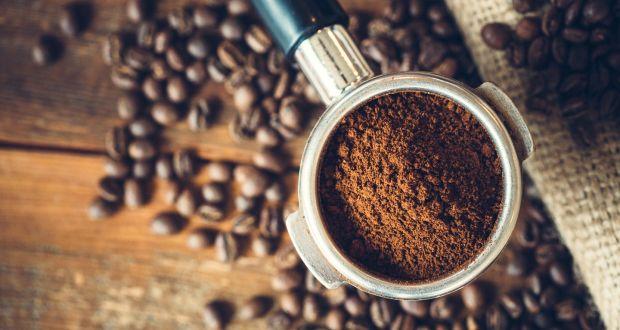 bột cafe được xay mịn