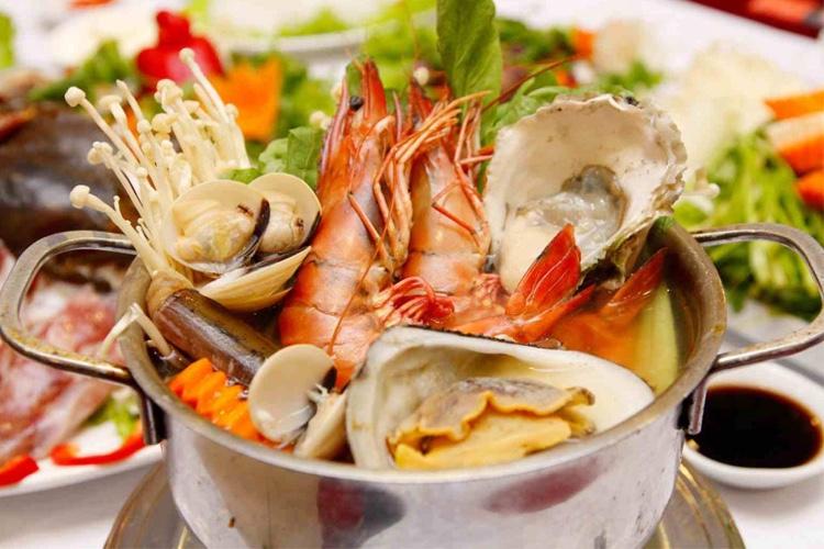 hải sản thơm ngon