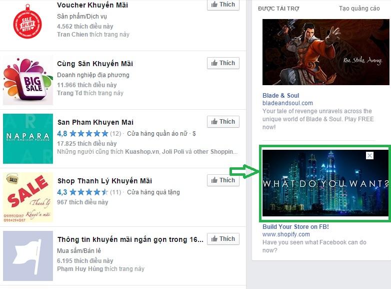 quảng cáo click to web