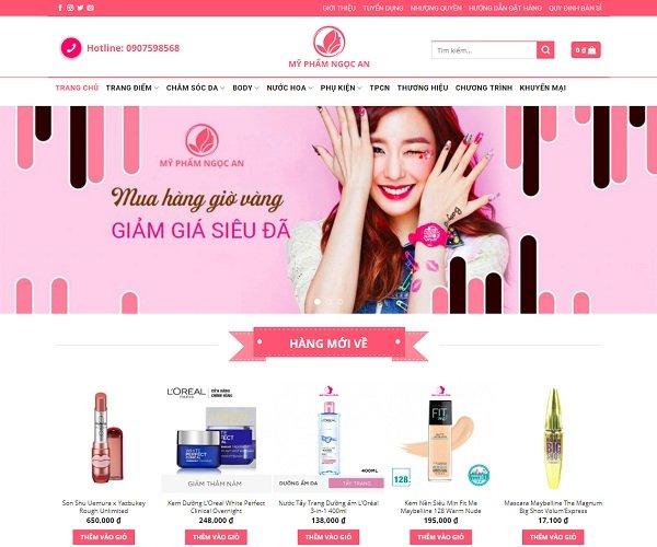 cách đăng bài bán hàng thu hút trên webiste bán mỹ phẩm