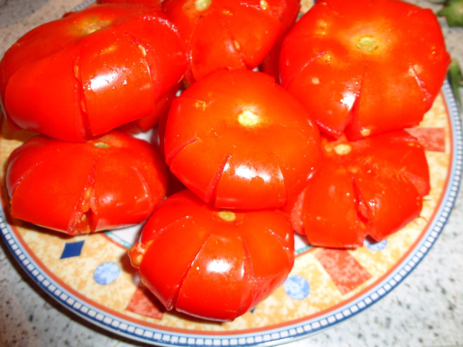 Cà chua bi có hình bông hoa