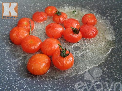 Sên cà chua nhẹ tay