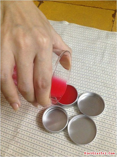 cách làm mỹ phẩm handmade