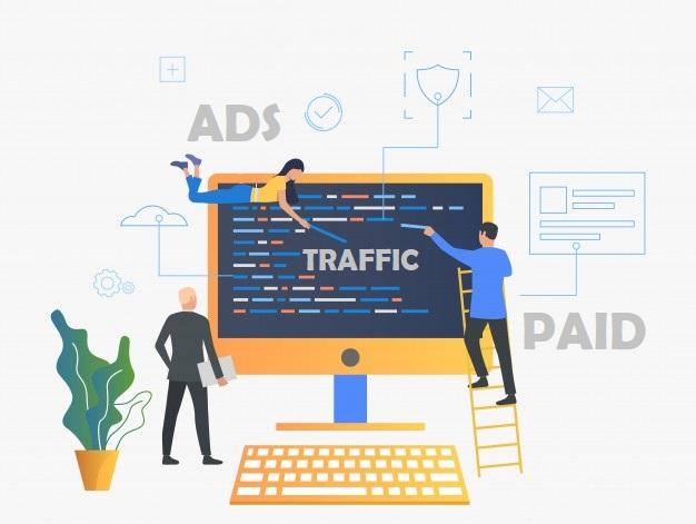 tăng lượt truy cập website bằng cách chạy quảng cáo