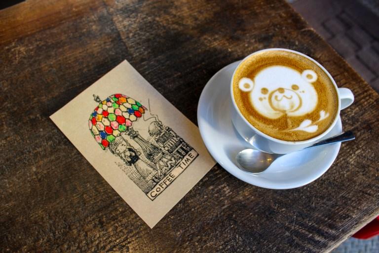 cafe con gấu