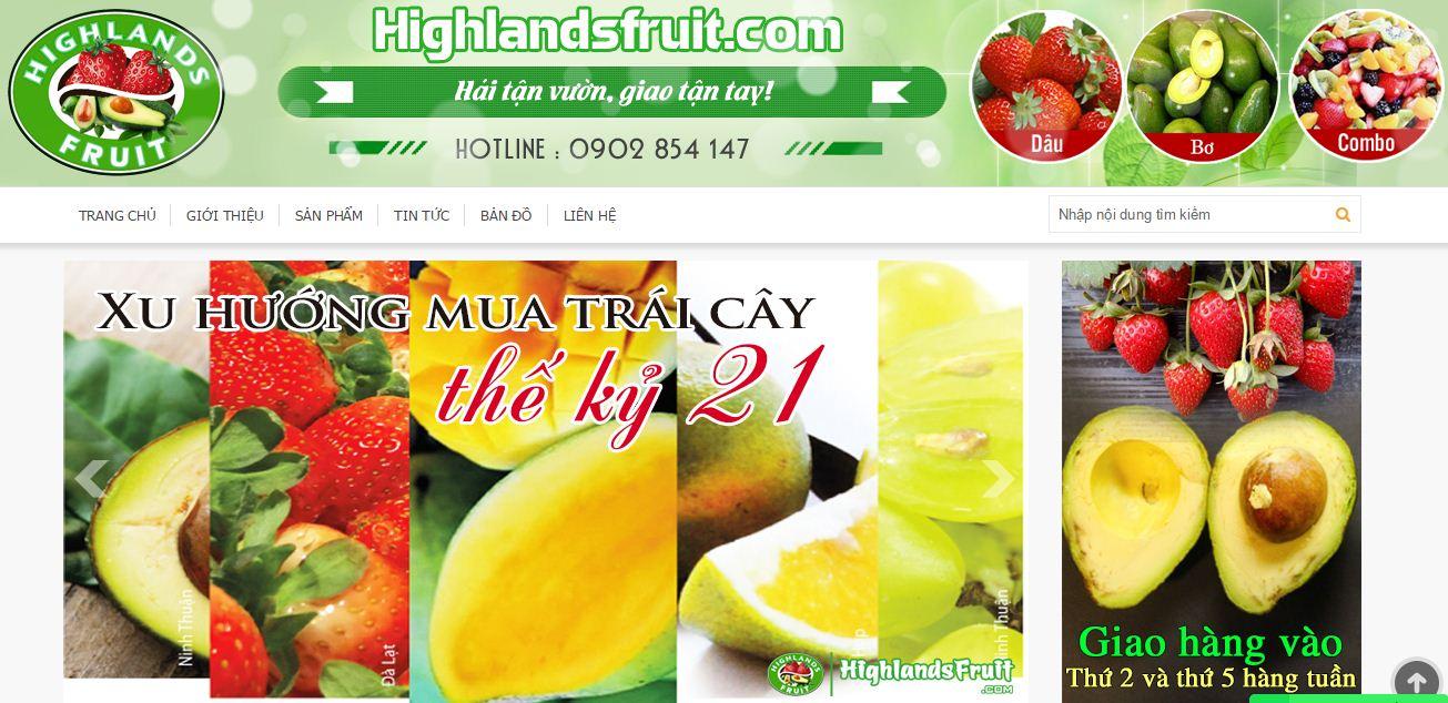 Chàng kỹ sư bỏ nghề xây dựng, bán trái cây online2