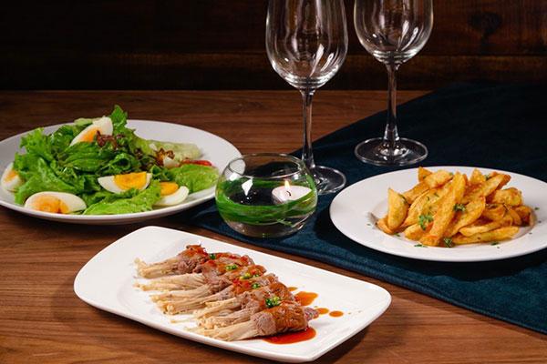 lựa chọn món ăn cho menu nhà hàng