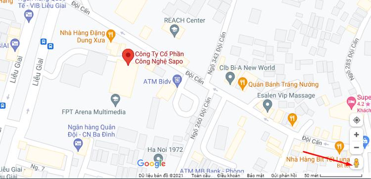 Chế độ Street View trong Google Maps