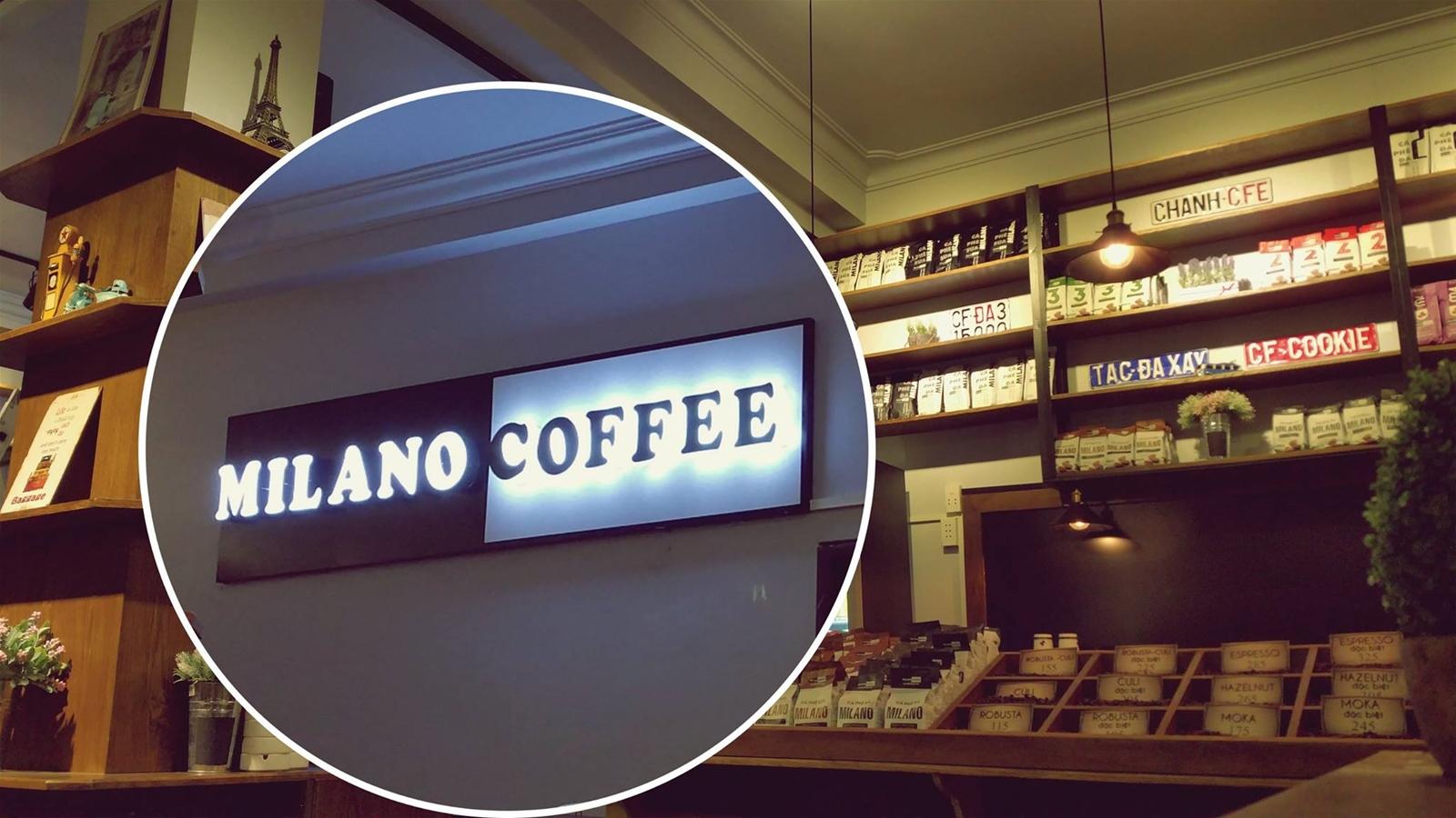 mở quán cafe milano cần bao nhiêu chi phí