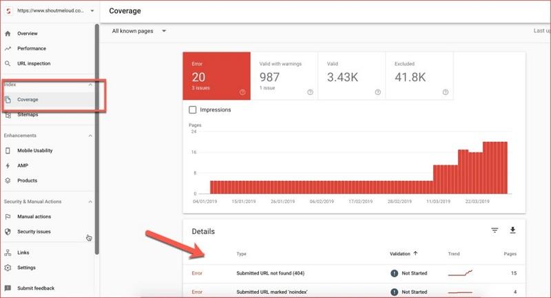 công cụ kiểm tra website chuẩn SEO google search console