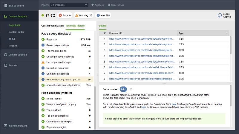 công cụ hỗ trợ tối ưu seo website WebSite Auditor
