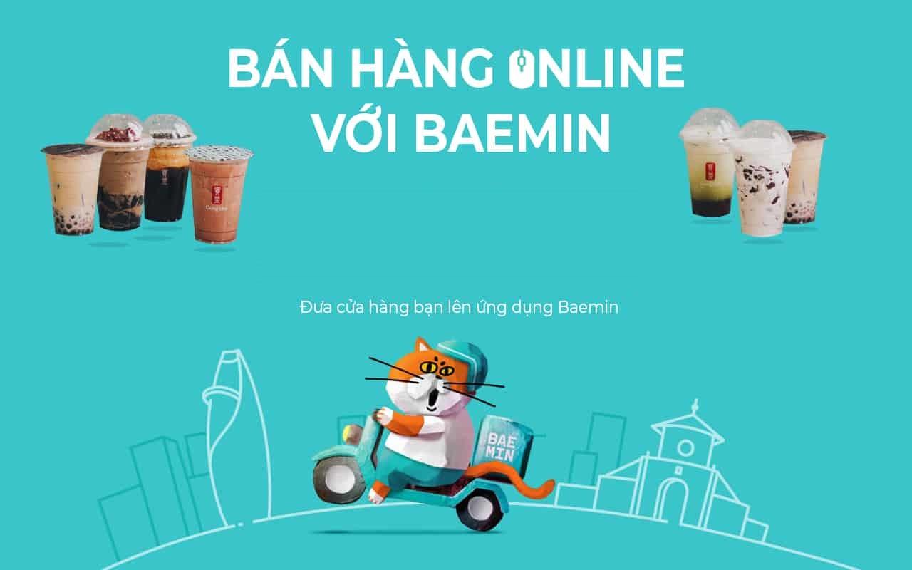 Hướng dẫn đăng ký Baemin bán hàng tăng doanh thu