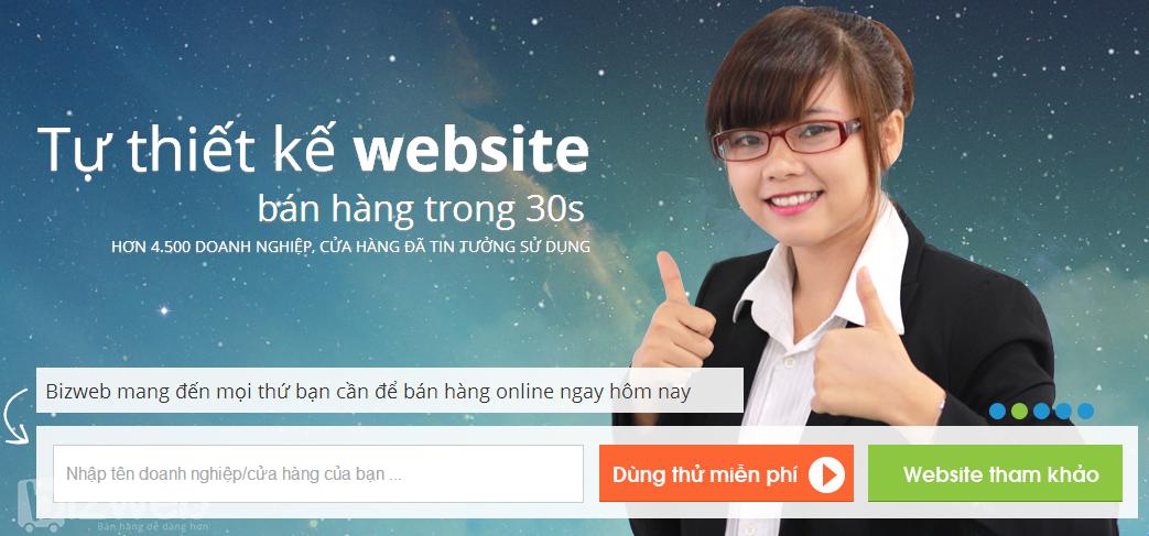 Sử dụng dịch vụ thiết kế web Đồng Nai chuyên nghiệp của Bizweb