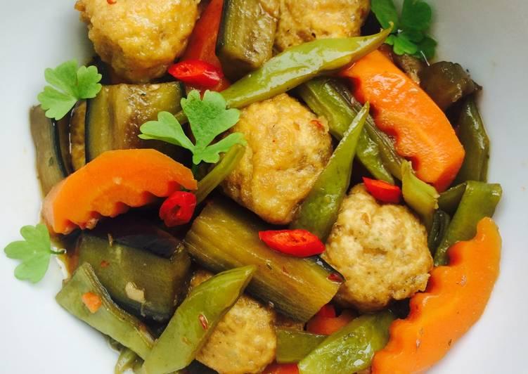món chay ngon bổ dưỡng với đậu hũ