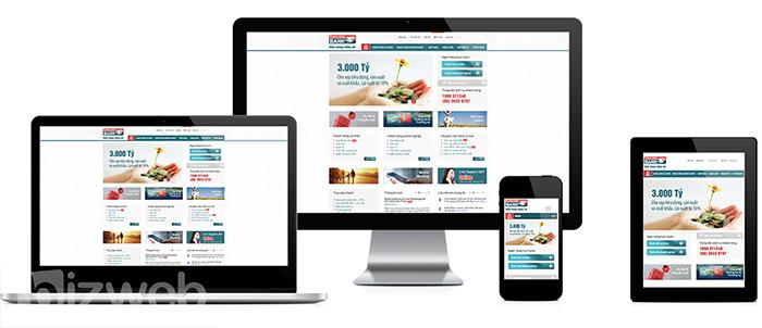 Gia nhập sân chơi thương mại điện tử qua dịch vụ thiết kế web An Giang chuyên nghiệp của Bizweb