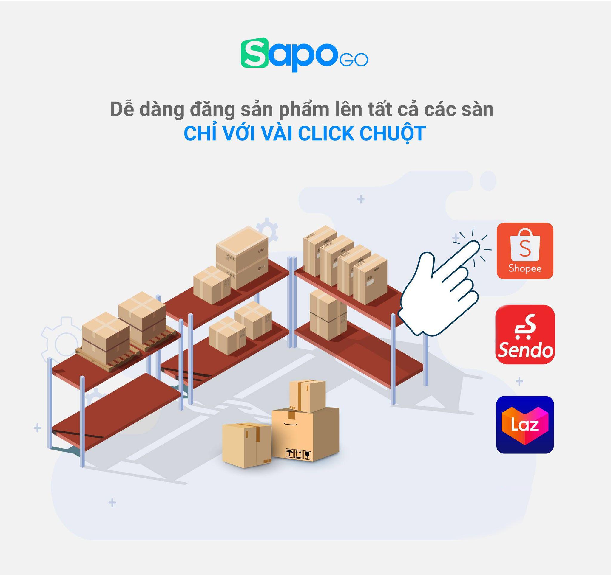 dễ dàng đăng bán sản phẩm với Sapo GO