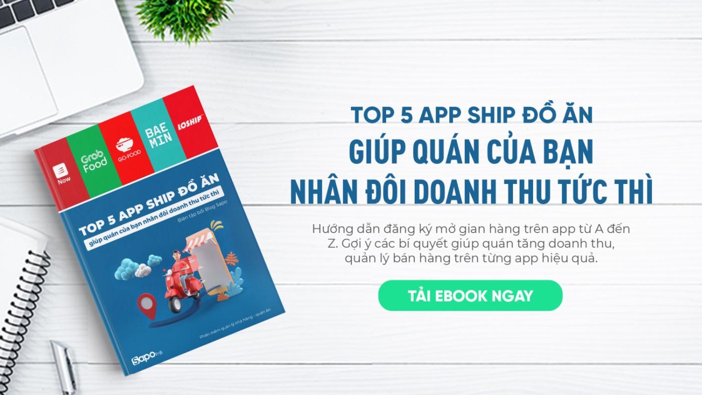 app ship đồ ăn
