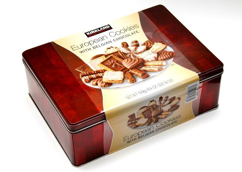 Hộp Bánh Kirkland Signature Socola European Cookies
