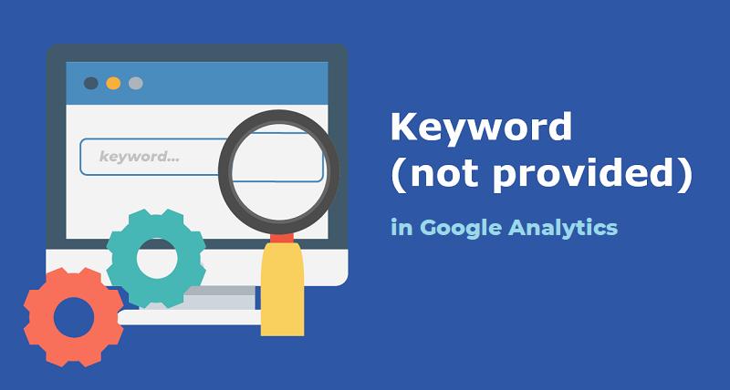Keyword bị ẩn trên Google Analytics
