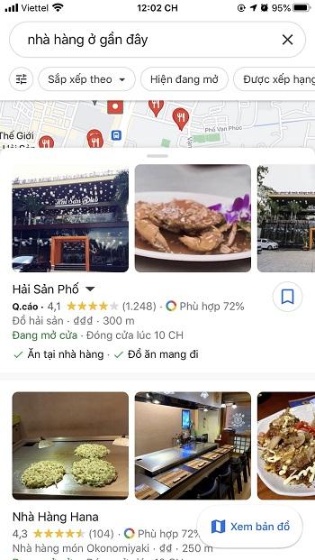 google my business giúp thu hút và tiếp cận khách hàng nhanh hơn