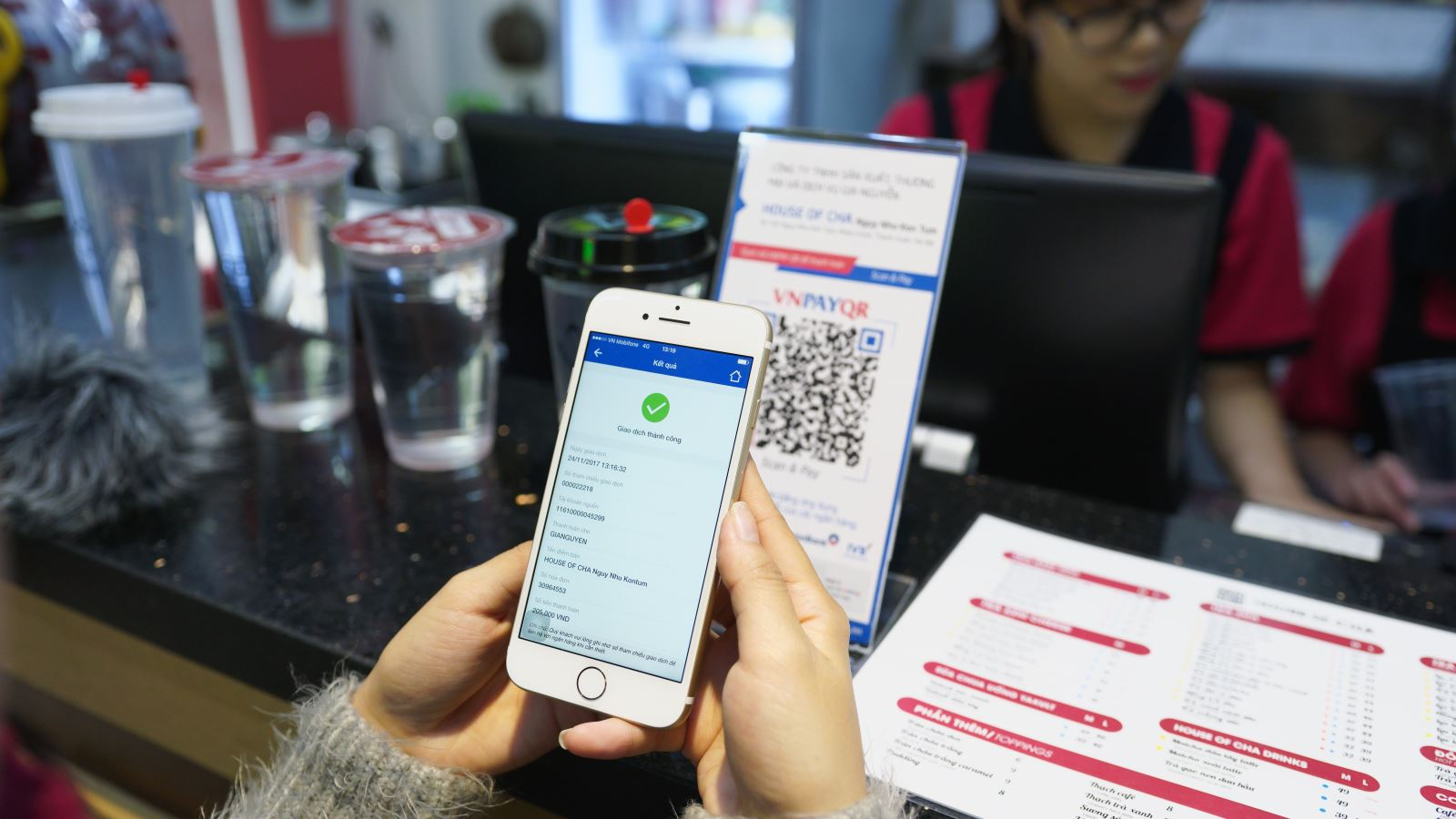 Phần mềm order khách hàng hỗ trợ khách hàng thanh toán