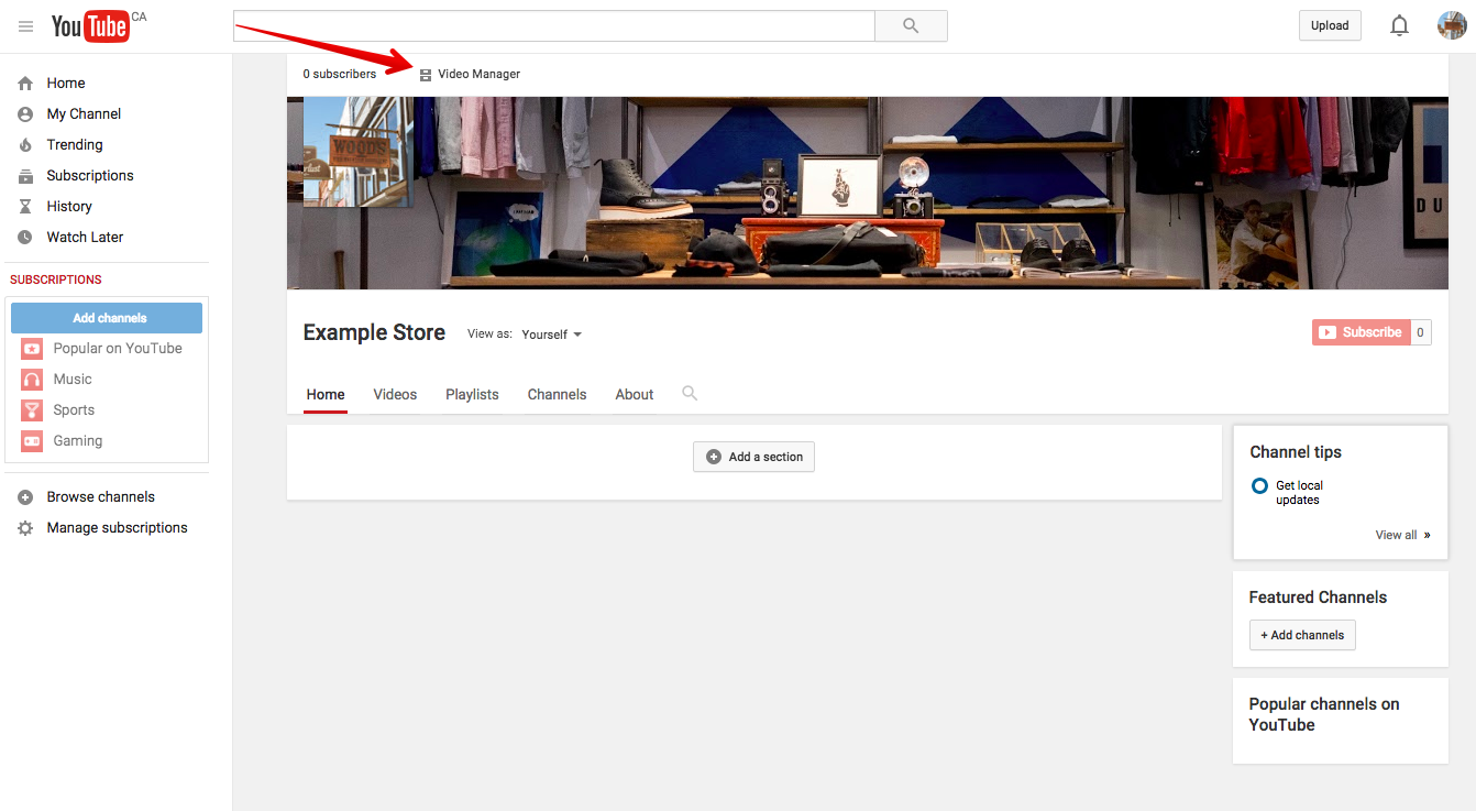 hướng dẫn tạo kênh Youtube 19