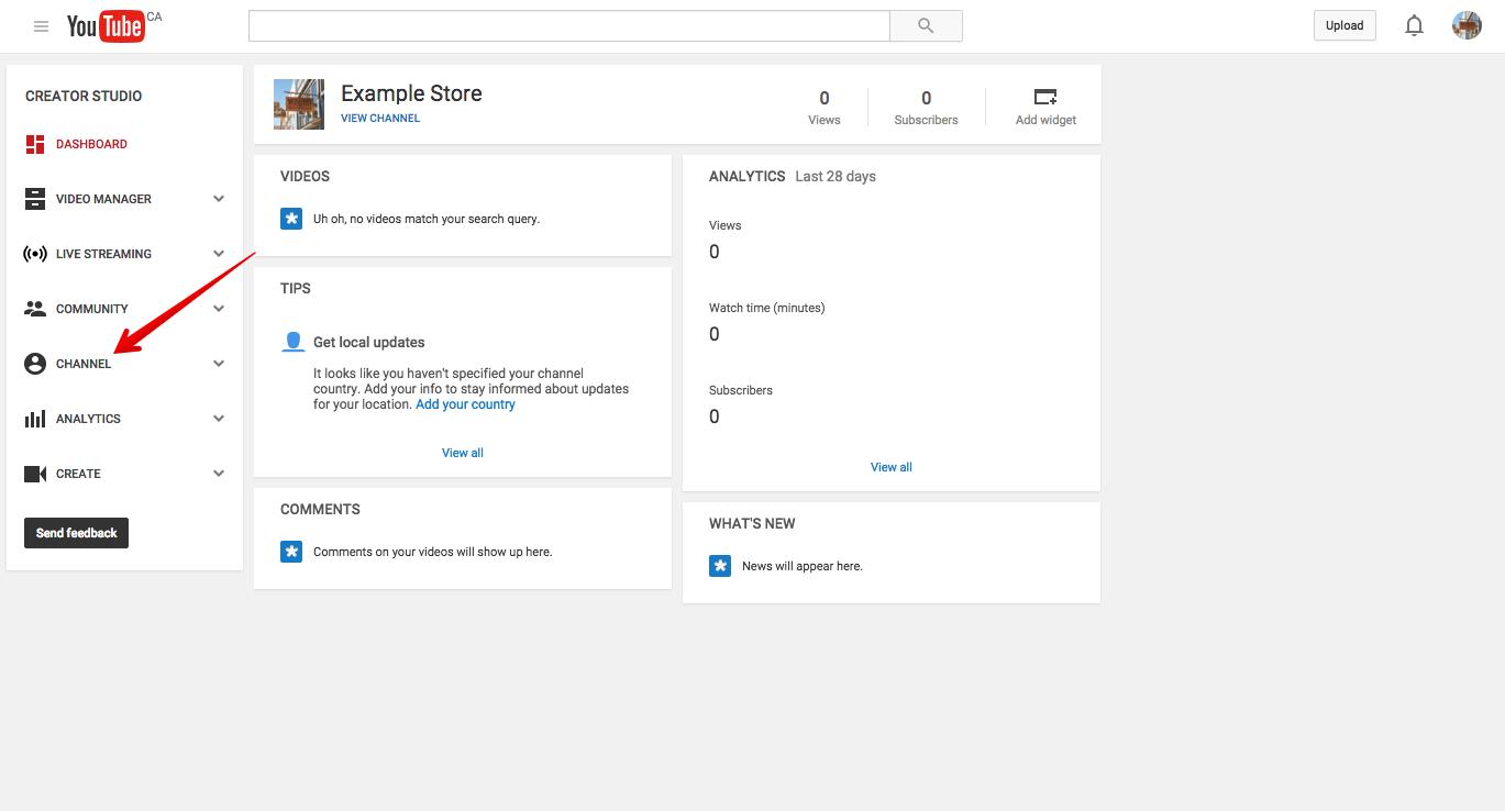 hướng dẫn tạo kênh Youtube 20