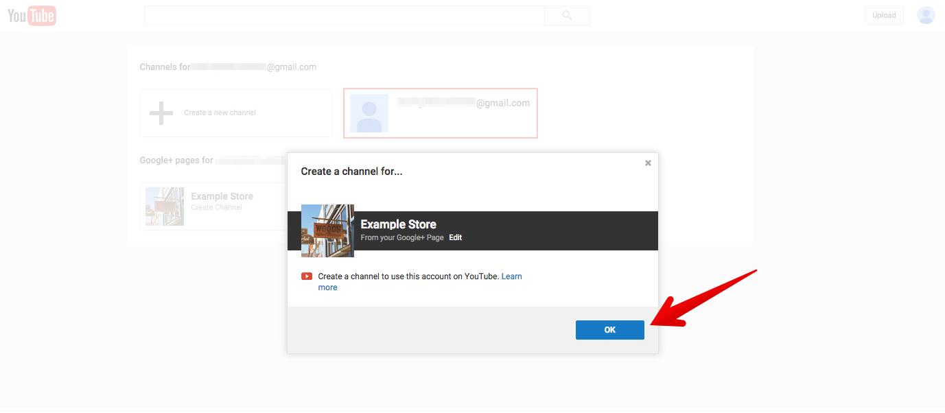 hướng dẫn tạo kênh Youtube 6