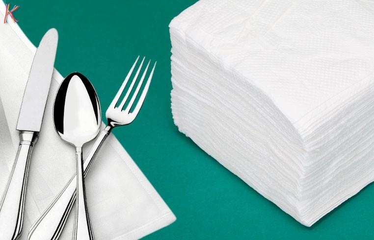 khăn giấy nhà hàng chất lượng kém