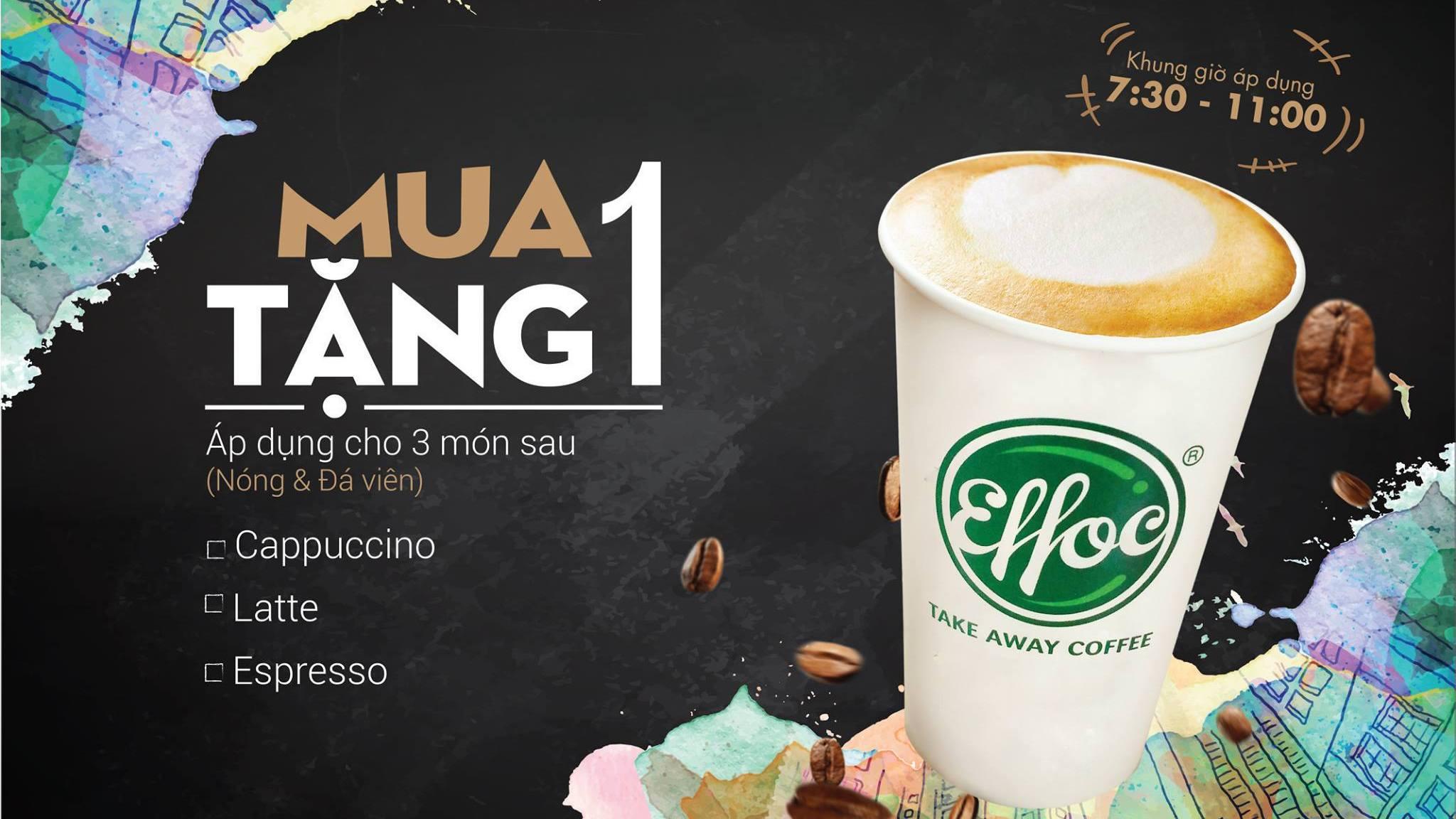 chương trình khuyến mãi cafe